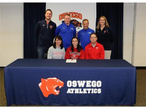 Jessica Sendef signs to continue playing Soccer at Carthage College.