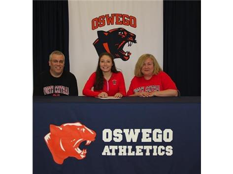 Jenna Yakesh signs with North Central College to continue Track & Field.