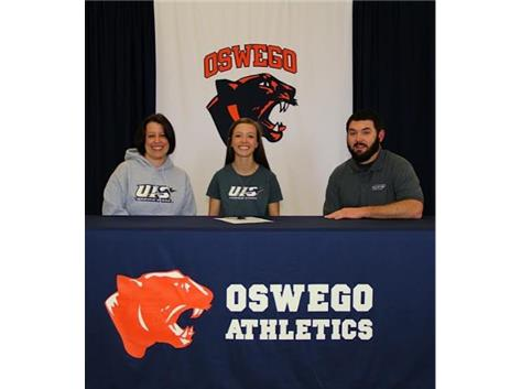 Abbie Lemley signs with University of Illinois-Springfield to continue Track & Field.