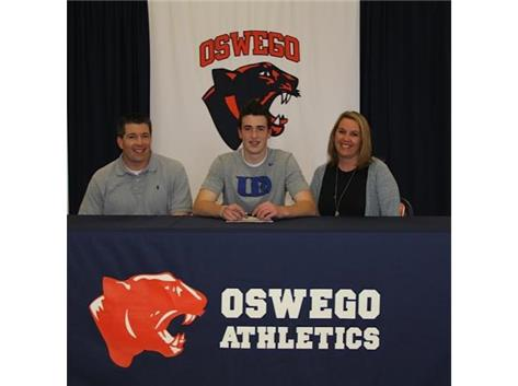 Tyler Gordon signs with University of Dubuque to continue playing Football.