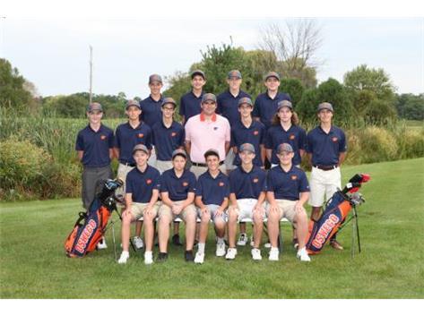2017 JV Boys Golf Team