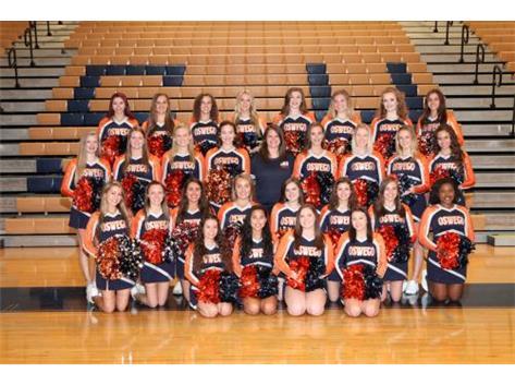 2017 Varsity Halftime Dance Team