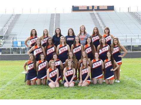 2017 Varsity Sideline Cheer Team