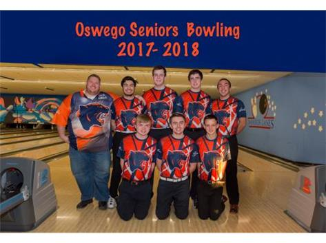 2017-2018 Boys Bowling Senior Night