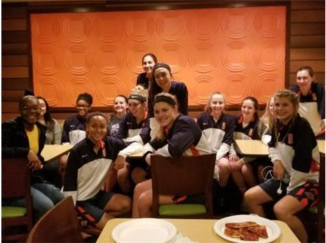 Team Dinner at Quincy