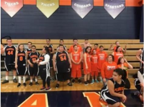 Oswego vs Plainfield Special Olympic Games