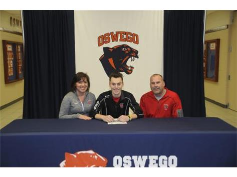Jacob Salzbrunn signs to continue playing Baseball at North Central College.