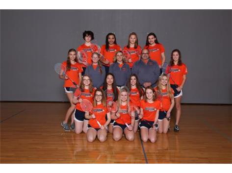 2018 JV Badminton Team