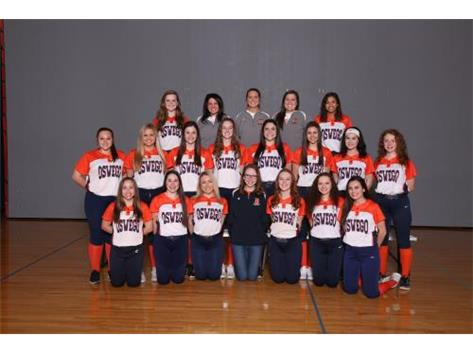 2018 Varsity Softball Team