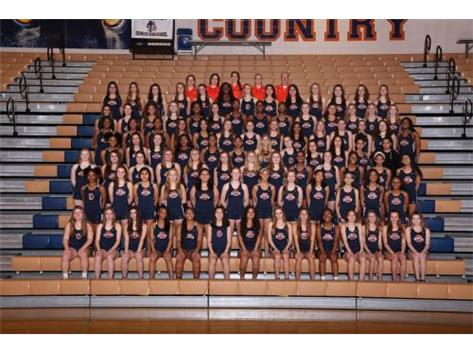 2018 Girls Track Team