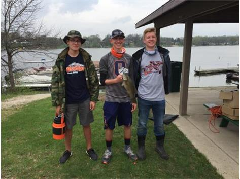 2018 Lake Holiday Sectional: Boat #2 12th place of 24 boats
