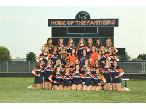2018 Varsity Sideline Cheer Team