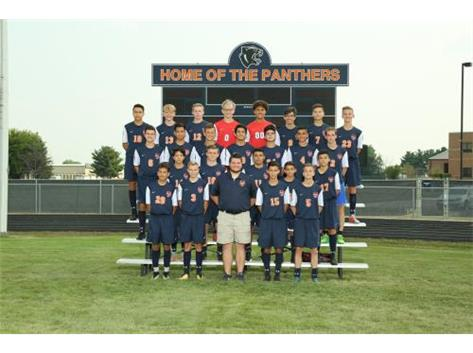 2018 JV Boys Soccer Team