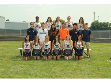 2018 JV Girls Tennis Team
