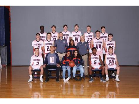 2018-2019 Boys Sophomore Basketball Team