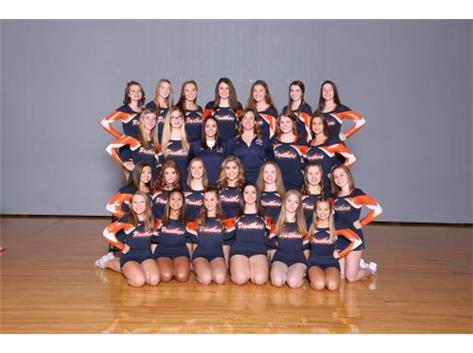 2018-2019 Competitive Cheer Team