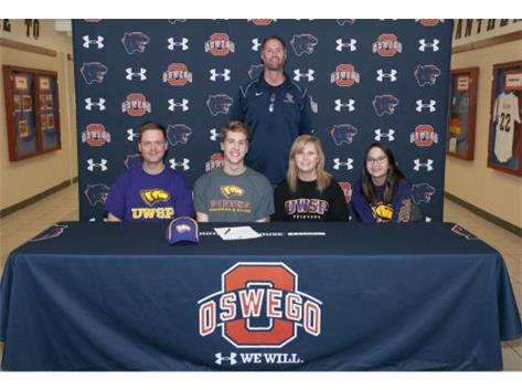 Cameron Harris signs to continue Swimming at University of Wisconsin-Stevens Point