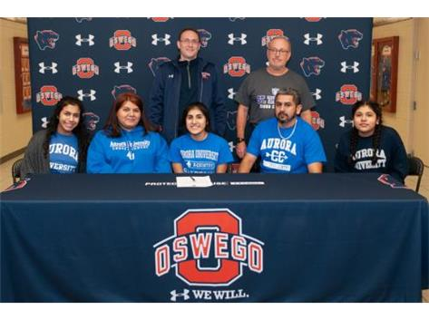 Isabel Aguado signing with Aurora University to continue running Cross Country