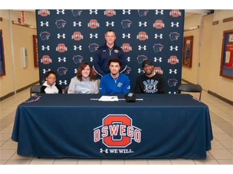 Jamal Fomby, Jr signing with Grand Valley State University to continue playing Football