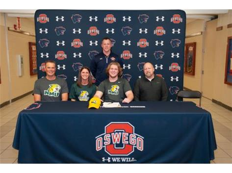 Cole Kiesewetter signing with University of Northern Michigan to continue playing Football