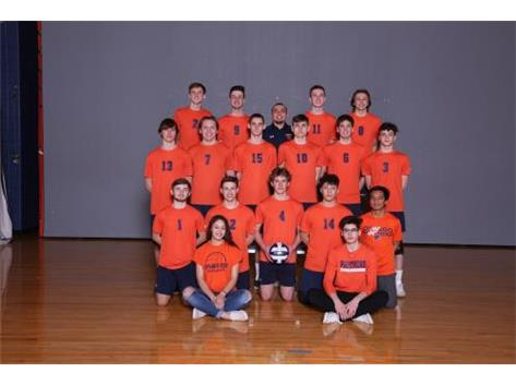 2019 Varsity Boys Volleyball Team