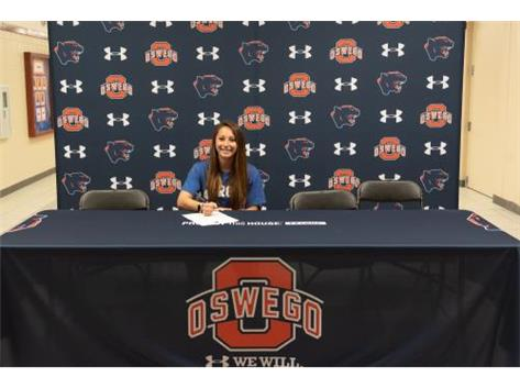 Brooke August signs with Aurora University to continue running Track