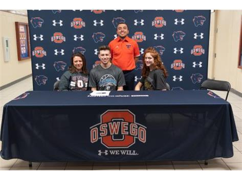 Michael Ramos signs with St. Ambrose University to continue playing Volleyball
