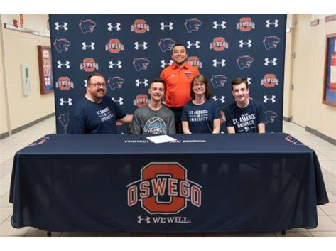Matthew Pettke signs with St. Ambrose University to continue playing Volleyball