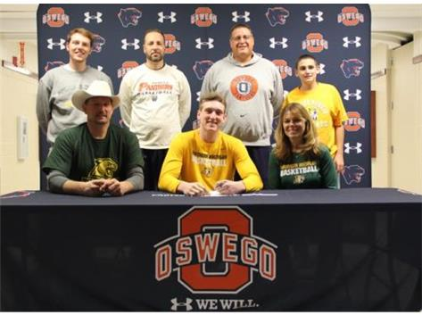 Connor McCance signs to play basketball at Northern Michigan University
