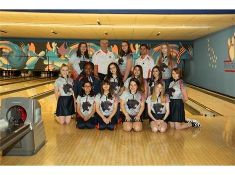 2019-2020 Girls Bowling Team
