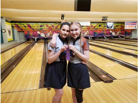 Alysa Vaughn (17th) & Mac Donahue (12th) @ JV Conference Tournament 2020