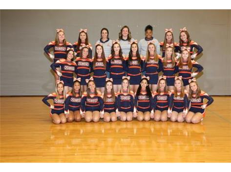 2019-2020 Varsity Competitive Cheer Team