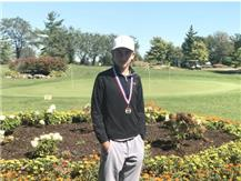 Gavin Hjelle's 78 topped the field of 54 golfers at the Connor Hunt Memorial Golf Tournament hosted by Naperville Central.