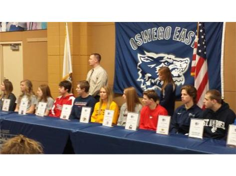 College Signing Breakfast - EAST Athletes