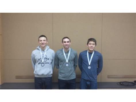 Boys Swim State Qualifiers