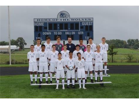 JV Boys Soccer 2016