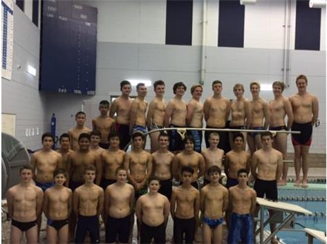 Boys Swimming & Diving 2016-17