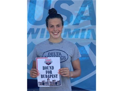 Grace Cooper Qualifies for the Junior World Championships in Budapest, Hungary!