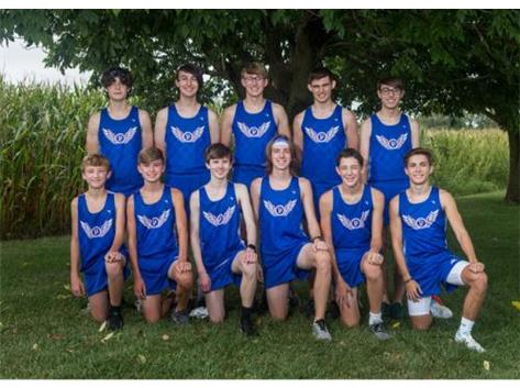HS Boys Cross Country 2020