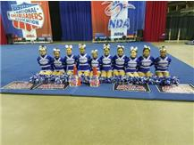 NATIONAL CHEERLEADER ASSOCIATION MIDWEST OPEN CHAMPIONSHIP - 1ST PLACE