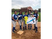 Jailene and teammates Karla, Julissa, Priscilla and Crystal
