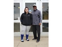 Sherlyn Garcia and Coach P