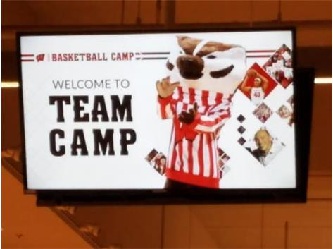 Wisconsin Badgers Team Camp