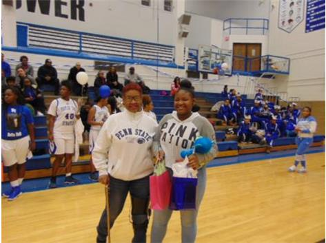 Senior Night 2018 Ciana Talmadge and Mom