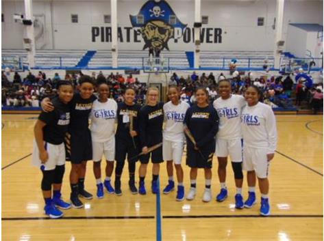 Lady Pirates Celebrate Senior Night with Leyden Seniors