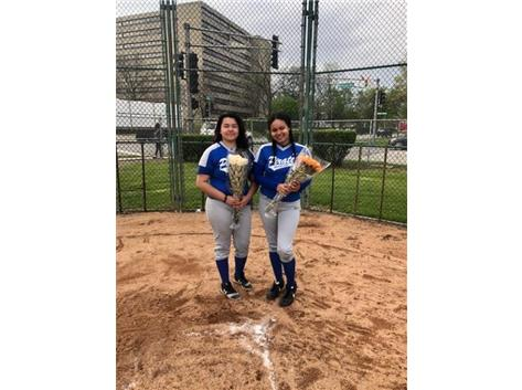 Jailene Mireles and Michaela Dennis