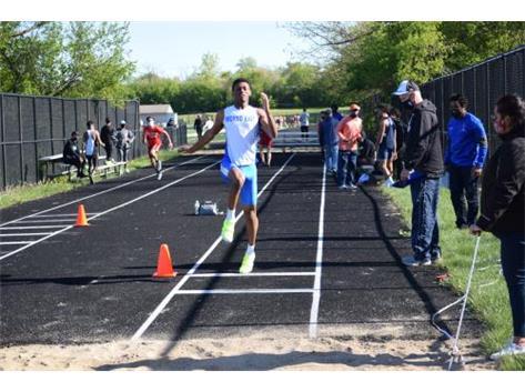 Javon Johnson 5/12/2021 Long Jump