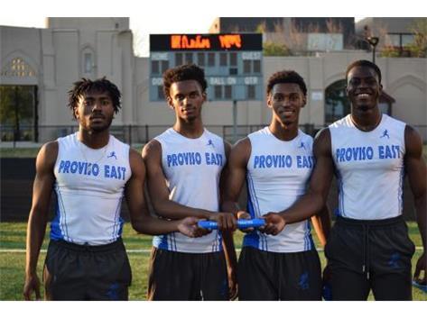 Left to right; J'Lynn Gay; Jaloni Johnson, Javon Johnson and Abdel Kessouagni.