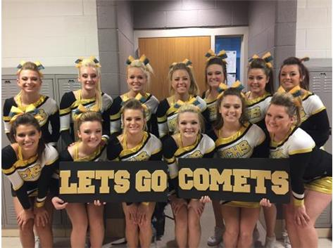 Let's Go Comets!