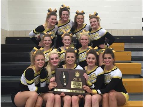 RCHS Cheer- Sectional Champs 2016